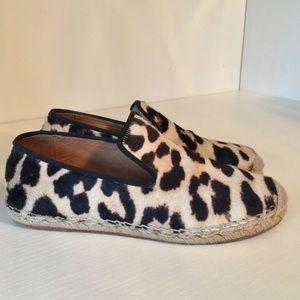 Celine Leopard print Espadrilles size 36